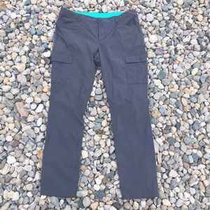 Eddie Bauer Gray Nylon Stretch Pants
